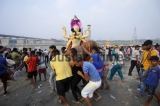 Immersion Procession Of Hindu God Vishwakarma