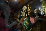 West Bengal Artists Making Idols For Durga Puja