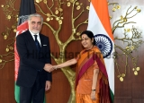 Chief Executive Of The Islamic Republic Of Afghanistan Abdullah Abdullah Meets Indian Foreign Minister Sushma Swaraj