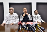 Press Conference Of Opposition Leaders On Protest On First Anniversary Of Demonitisation