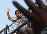 Bollywood Actor Shah Rukh Khan Celebrates His Birthday With Fans And Media