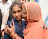 Pakistani Sisters Cross Attari Border After Release From Indian Jail