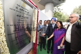 Union Housing and Urban Affairs Hardeep Singh Puri Lays Foundation Stone For Skywalk And FOB At ITO
