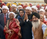 President Ram Nath Kovind Pays Obeisance At Golden Temple And Durgiana Temple