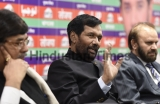 Press Conference Of Union Minister For Food And Consumer Affairs Ram Vilas Paswan