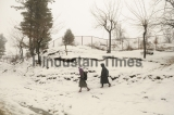 Fresh Snowfall In Jammu And Kashmir, Temperature Goes Below Freezing Point