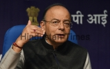 Post Budget Press Conference Of Union Finance Minister Arun Jaitley