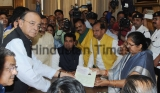 Union Finance Minister Arun Jaitley Files Nomination For Rajya Sabha Polls From Uttar Pradesh