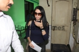 Model Rozlyn Khan Rozlyn Khan Appears At Thane Crime Branch Office In Call Detail Records Case