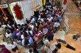 Hindu Devotees Seek Blessing At Siddhivinayak Temple On Occasion Of Angaraki Chaturth