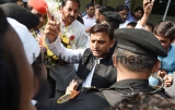 Samajwadi Party Leader Akhilesh Yadav Meets Party Workers In New Delhi