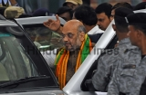 BJP President Amit Shah Arrives In Mumbai To Address BJP Foundation Day Rally