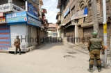 Authorities Imposed Curfew-Life Restrictions In Srinagar