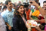 Commonwealth Games 2018: Table Tennis Player Madhurika Patkar Gets Grand Welcome In Mumbai