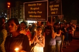 Candle Light March To Demand Justice For Kathua And Unnao Rape Case Victims