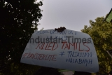 Protest Against the Killing Of 11 Protesters In Police Firing In Tuticorin