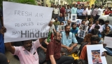 Activists Protest Against The Killing Of Protestors At Tuticorin
