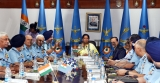 Defence Minister Nirmala Sitharaman Attends Indian Air Force Commanders Conference