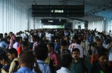 Commuters Stranded As Western Railway Line Disrupts Due To Andheri Road Over Bridge Collapse