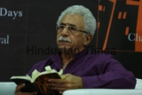 Actor Naseeruddin Shah At A Book Reading Session Of  The Glass House: A Year of Our Days By Chanchal Sanyal