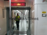 Delhi Metro Violet Line Services Disrupted After Railing Collapses Due To Heavy Winds, Hundreds Stranded