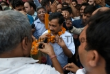Delhi Chief Minister Arvind Kejriwal Conducts On-Field Inspections Of PWD Desilted Drains