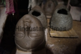 Indian Craftsmen Make Idols Of Mother Goddess Durga For Durga Pooja Festivals