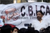 West Bengal Pradesh Congress Protest Against Prime Minister Narendra Modi Over CBI Affair
