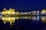 Illuminated Golden Temple On The Eve Of Birth Anniversary Of Guru Ram Das