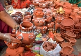 Preparations For Chatt Puja Festival