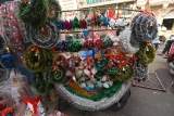 Shops Decorated For Christmas Festival