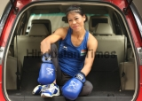 HT Exclusive: Profile Shoot Of Indian Boxer Mary Kom