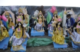 Preparations Of Saraswati Puja