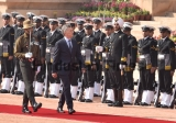 Ceremonial Reception Of Argentinian President Mauricio Macri