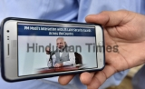 Prime Minister Narendra Modi Interacts With 2.5 Million Watchmen Via Audio Bridge Technology