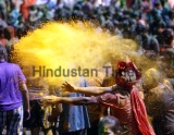 People Celebrate Holi Festival