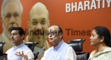 Press Conference Of Union Finance Minister Arun Jaitley