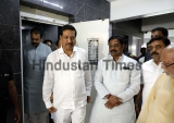 Congress And NCP Leaders Hold A Meeting At Harshavardhan Patils Residence