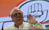 Senior Congress Leader Kapil Sibal Briefs Media On Demonetisation
