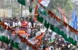 Congress President Rahul Gandhi Holds A Road Show In Amethi; Files Nomination From