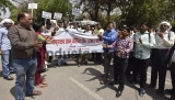 ABVP Members, Delhi University Students Demonstrate Against University Vice-Chancellor For Their Demands