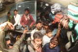 Heavy Rush Of Passenger In Bihar Bound Train