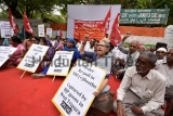 CPI Protest Against Election Commission Of India Over Alleged Rigging In Tripura