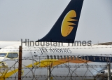 Jet Airways Aircraft At Chattrapati Shivaji International Airport