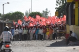 CPI(M) Leader Gp Gavit Holds An Election Campaign Rally In Nashik
