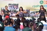 People Participate During Raahgiri Day In Gurugram