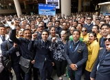 Jet Employees Protest At Mumbai International Airport, Seeking Pending Salary, Job Security