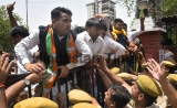 BJP Protest Against Alwar Gangrape Case