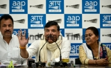 Lok Sabha Election 2019 Press Conference Of AAP Leader Sanjay Singh