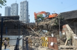 Western Railway Starts Demolishing Western Arm Of Delisle Bridge In Mumbai